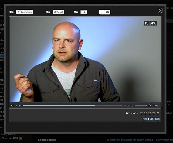 Bildschirmfoto FOTO TV
